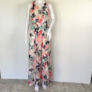 VINCE CAMUTO WOMAN SUMER FLORAL DRESS SIZE 2 GI82